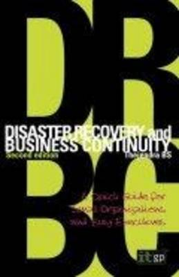 Disaster Recovery and Business Continuity by Thejendra Bs image