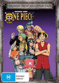 One Piece (Uncut) Treasure Chest - Collection 4 on DVD image