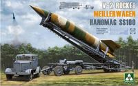 Takom: 1/35 V-2 Rocket Meillerwagen Hanomag SS100 Model Kit