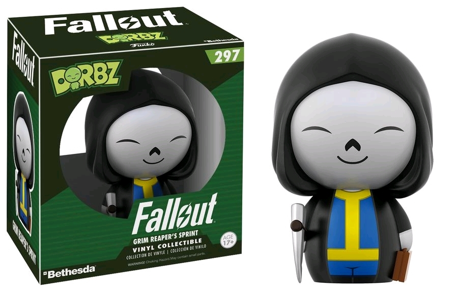 Fallout - Vault Boy (Grim Reaper) Dorbz Vinyl Figure image