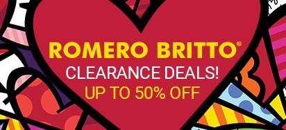 Romero Britto Clearance Deals!