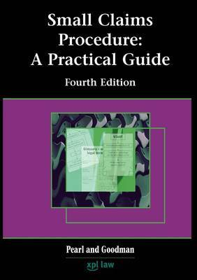 Small Claims Procedure: a Practice Guide by Patricia Pearl image