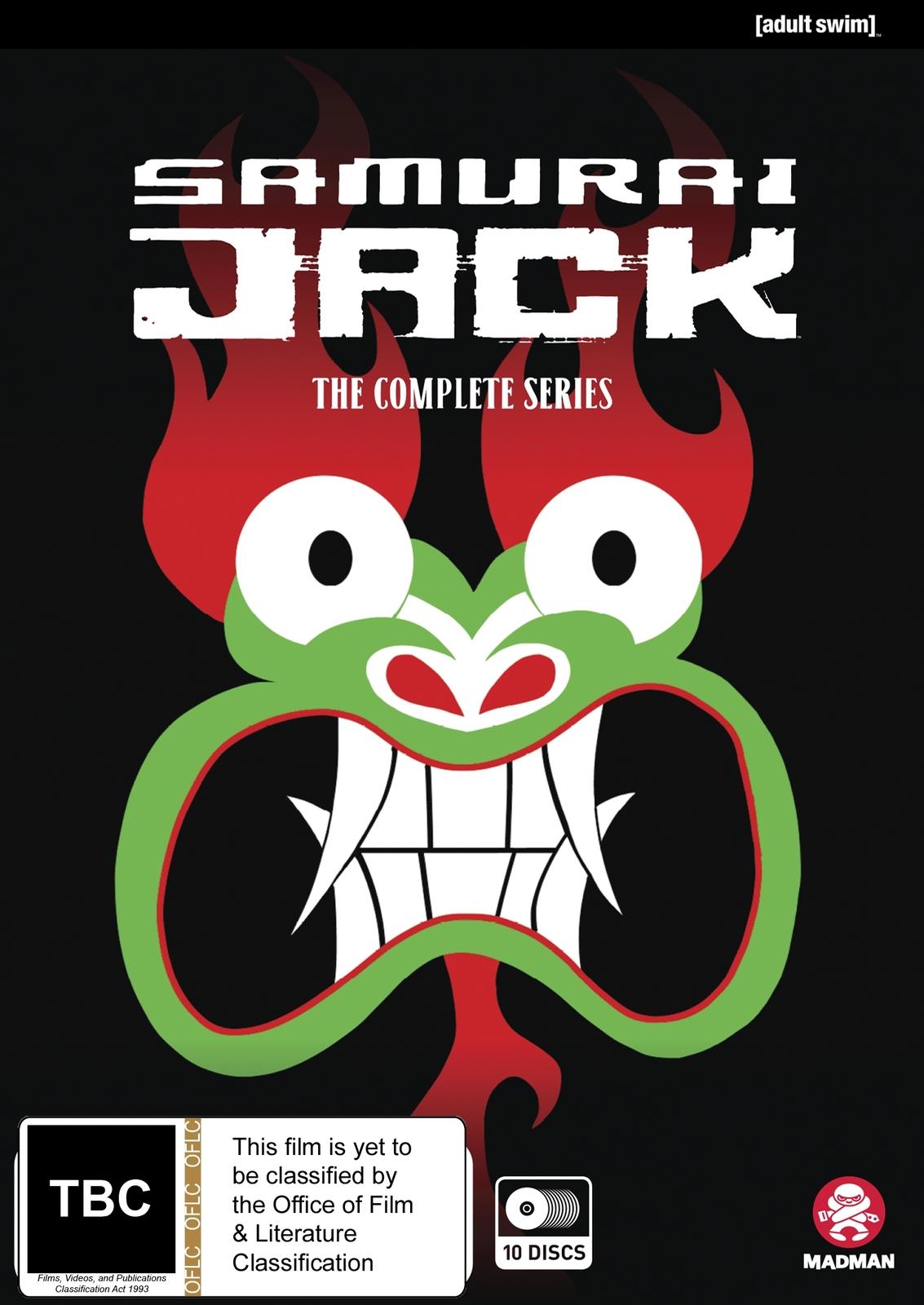 Samurai Jack - The Complete Seasons 1-5 on DVD image