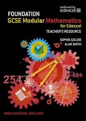 Edexcel GCSE Modular Maths Foundation: Teacher's Resource by Prof. Alan Smith image