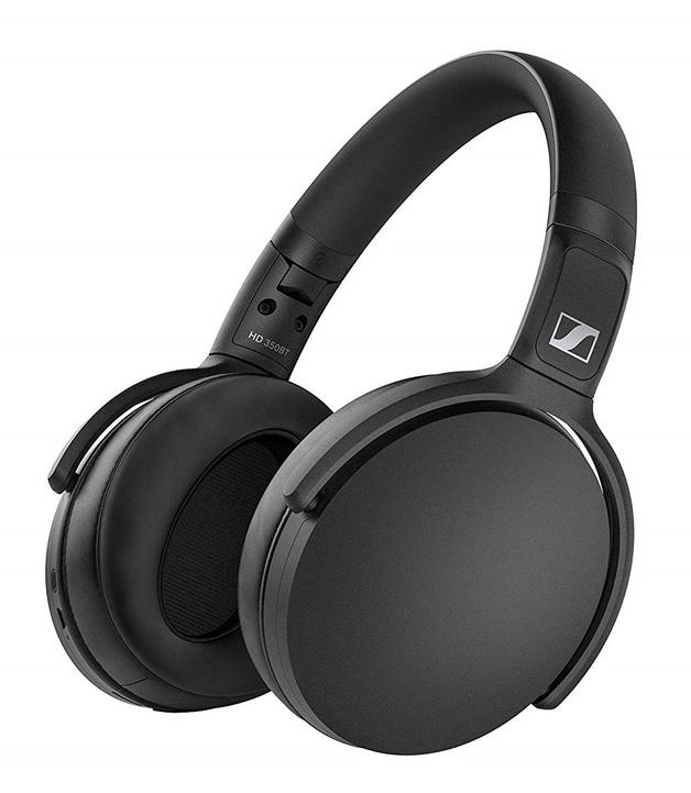 Sennheiser: HD 350BT - Wireless Over-Ear Headphones (Black)