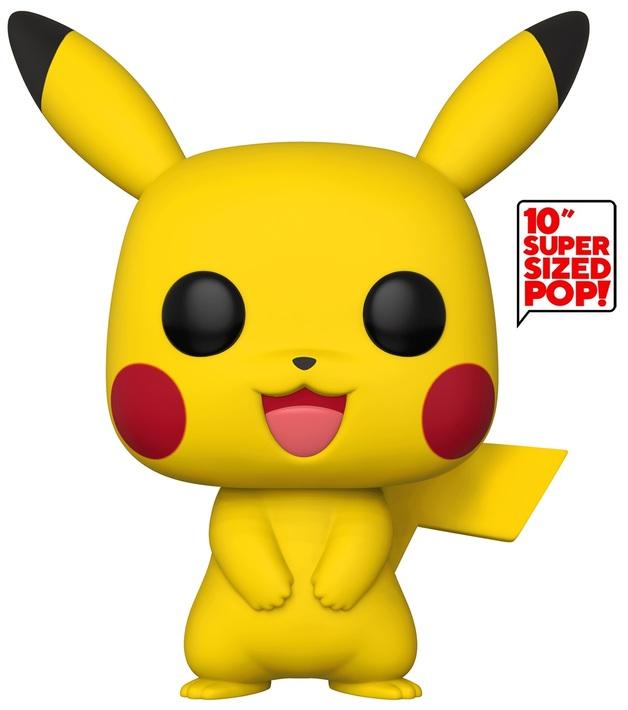 "Pokemon: Pikachu - 10"" Super Sized Pop! Vinyl Figure"