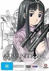 Gunslinger Girl - Vol 3 on DVD