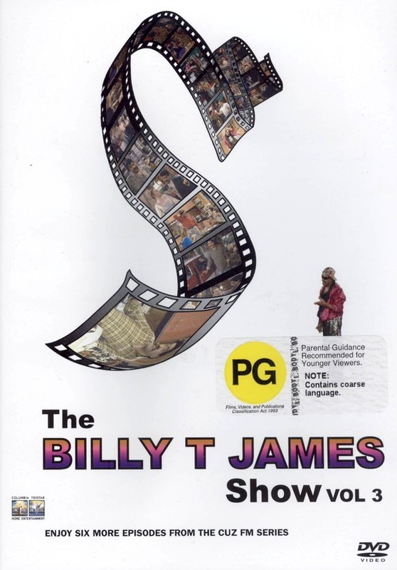 The Billy T. James Show - Vol. 3 on DVD