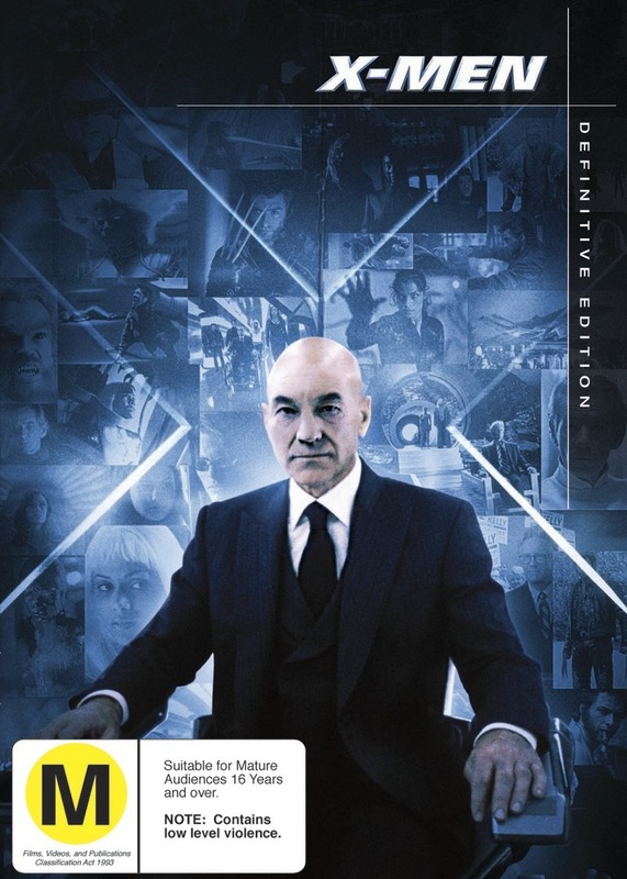 X-Men - Definitive Edition (2 Disc Set) on DVD