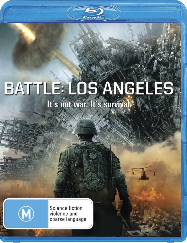 Battle: Los Angeles on Blu-ray