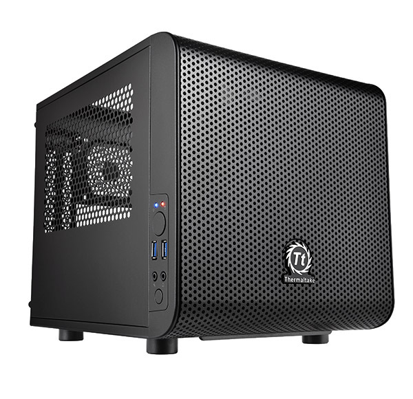 ThermalTake Core Mini Tower Case (Black)