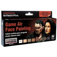 Vallejo Game Air Set: Face Painting