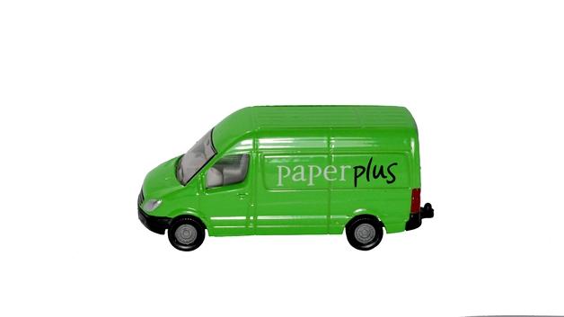 SIKU: Paper Plus Delivery Van