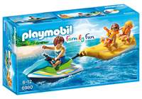 Playmobil: Family Fun - Watercraft with Banana Boat