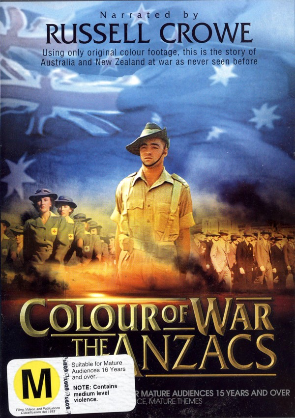 Colour Of War - The Anzacs on DVD image