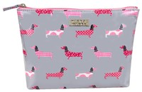 Wicked Sista A-Line Cosmetic Bag - Dachshund Parade