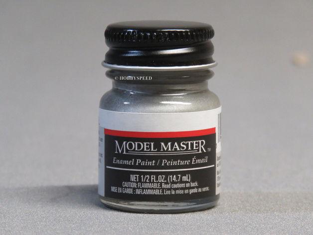 Testors: Enamel Paint - Steel (Flat)