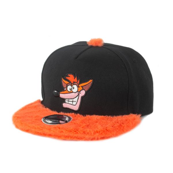 Crash Bandicoot  Furry Crash Snapback Hat image ... 6149770f014d