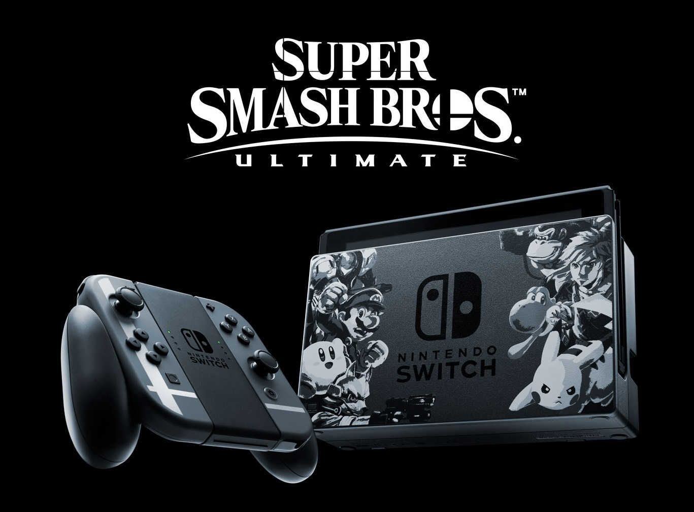Nintendo Switch Super Smash Bros. Ultimate Edition Console for Nintendo Switch image