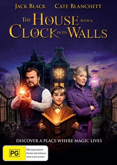 The House with a Clock in its Walls on DVD