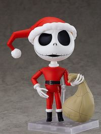 The Nightmare Before Christmas: Jack Skellington (Sandy Claws Ver.) - Nendoroid Figure