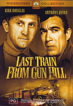 Last Train From Gun Hill on DVD