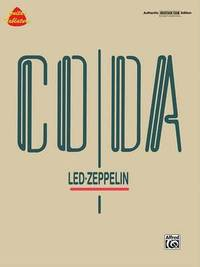 Led Zeppelin -- Coda: Authentic Guitar Tab by Zeppelin Led image