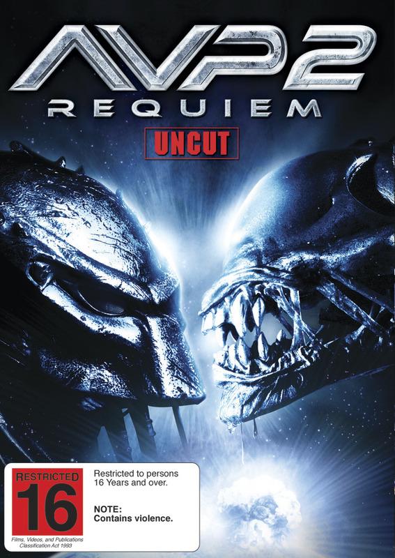 AVP2: Aliens Vs Predator - Requiem on DVD