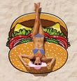 BigMouth Inc - Gigantic Burger Towel