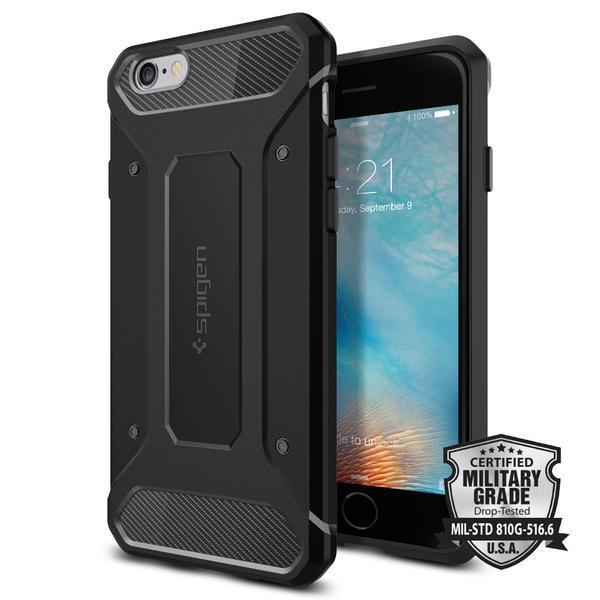 "Spigen iPhone 6s (4.7"") Rugged Armor Case - Black"