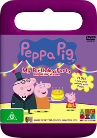 Peppa Pig - My Birthday Party And Other Stories on DVD image