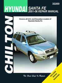 Hyundai Santa Fe Automotive Repair Manual image