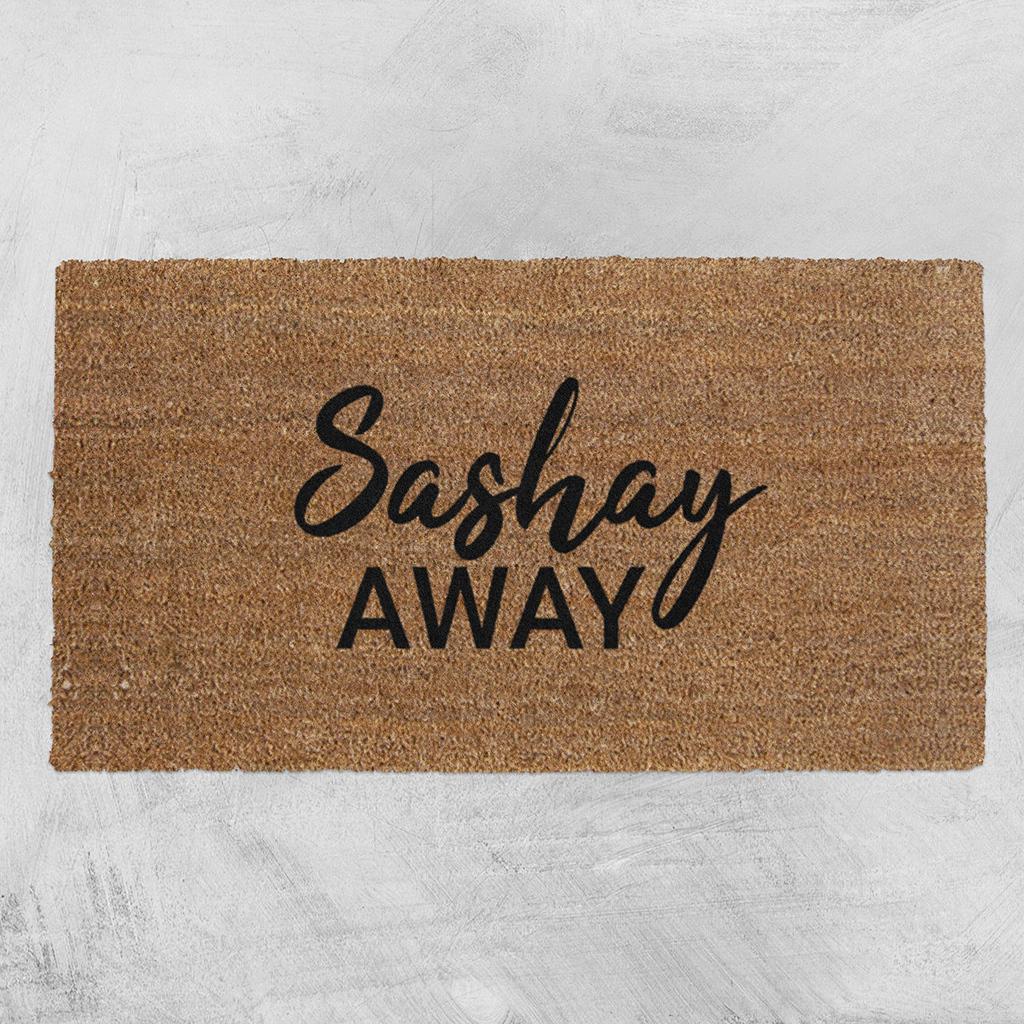 Natural Fibre Doormat - Sashay Away image