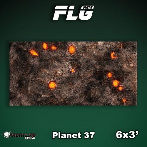 FLG Planet 37 Neoprene Gaming Mat (6x3)