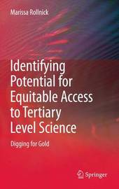 Identifying Potential for Equitable Access to Tertiary Level Science by Marissa Rollnick image