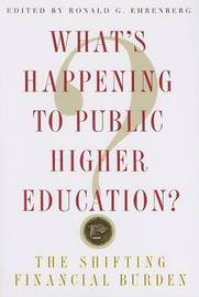 What's Happening to Public Higher Education? image