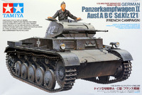 Tamiya German Panzerkampfwagen II Ausf.A/B/C Tank 1:35 Model Kit