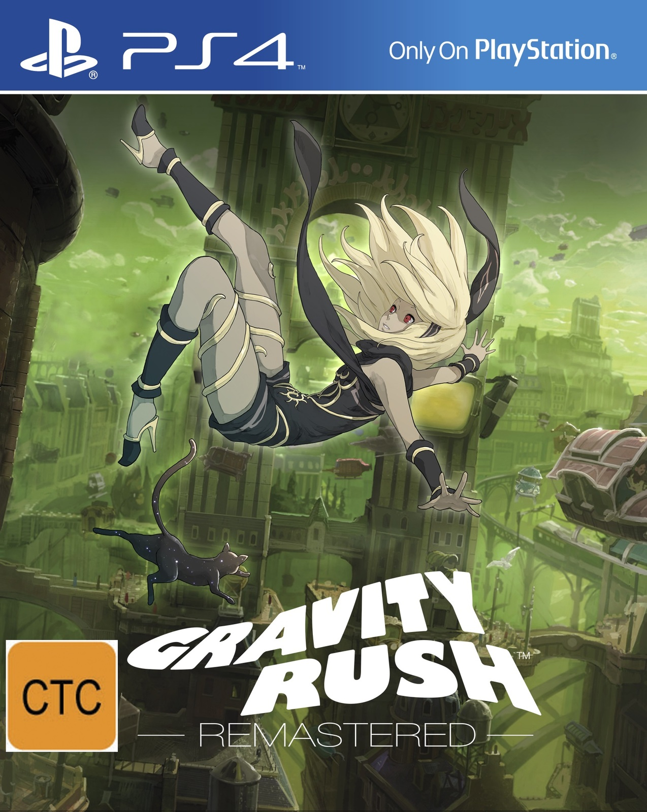 Gravity Rush Ps4 In Stock Buy Now At Mighty Ape Nz Sony 2 Remastered For Image