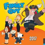 Family Guy 2017 Wall Calendar by 20th Century Fox