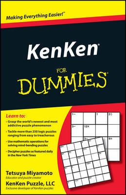 KenKen For Dummies by Tetsuya Miyamoto image