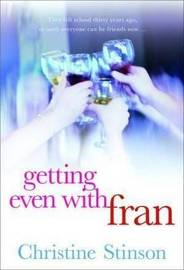Getting Even With Fran by Christine Stinson image