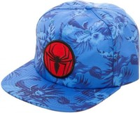Marvel: Spider-Man - Mono Floral Slouch Snapback Cap