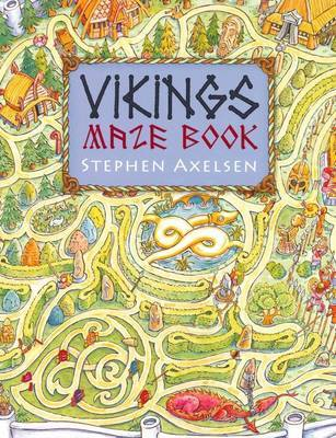 Viking Maze And Puzzle Book by Stephen Axelsen