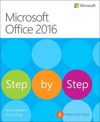 Microsoft Office 2016 Step by Step by Joan Lambert