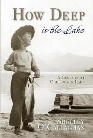 How Deep is the Lake by Shelley O'Callaghan