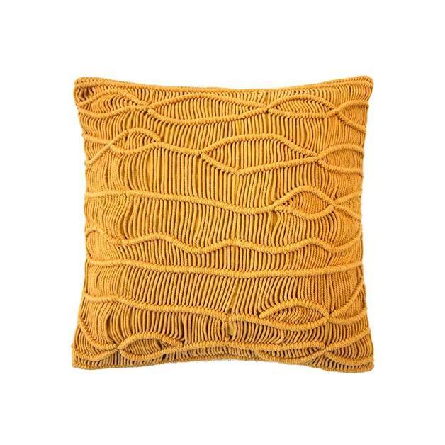 Dune Cushion - Saffron