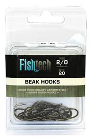 Fishtech Beak Hooks 2/0 (20 per pack)