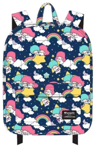 fc06826835f Loungefly  Hello Kitty - Rainbow Clouds Print Backpack   Women s ...