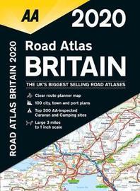 AA Road Atlas Britain 2020