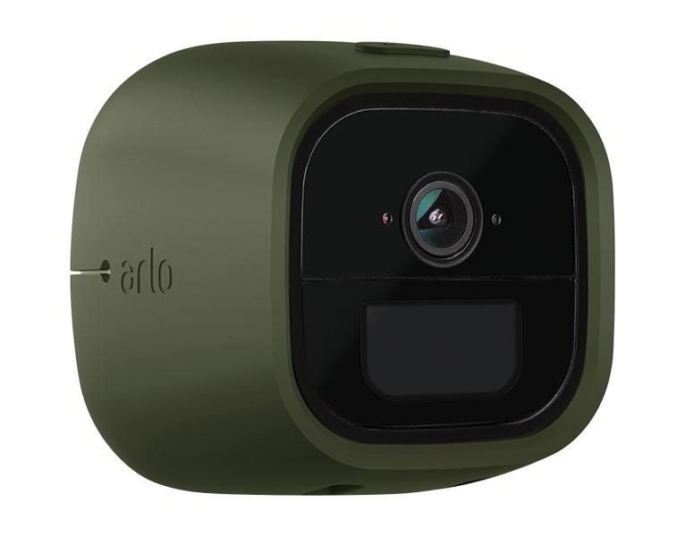 Arlo Go Skins - Green & Black (Set of 2) image
